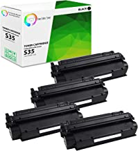 TCT Premium Compatible Toner Cartridge Replacement for Canon S35 7833A001AA Black Works with Canon ImageClass D300 D320 D340 D360, MF3240, PC-D320 D340 Printers (3,500 Pages) - 4 Pack
