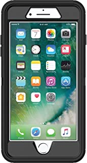 OtterBox 77-53892  DEFENDER SERIES Case for iPhone 8 & iPhone 7 (NOT Plus) - Retail Packaging - BLACK
