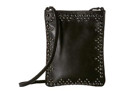 Leatherock Yvette Cell Pouch (Black) Cross Body Handbags