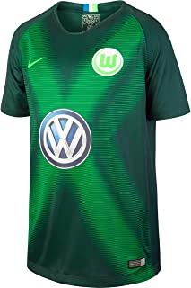 Nike Unisex Kinder VFL Wolfsburg Stadium Heim Trikot