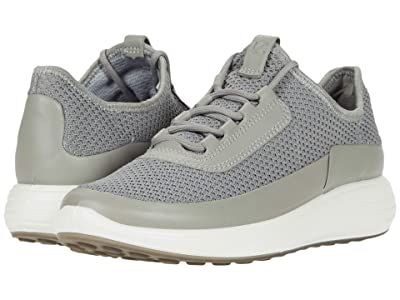 ECCO Soft 7 Runner Summer Sneaker (Wild Dove/Wild Dove/Concrete Cow Leather/Textile) Women