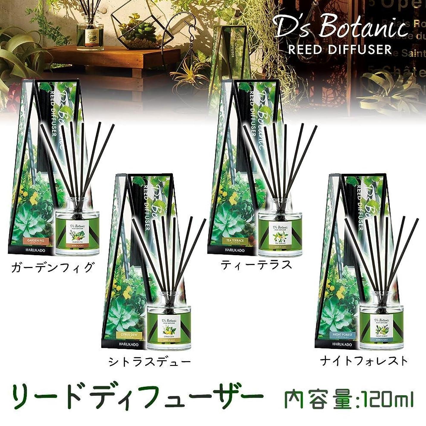 なめらかな配管読者D'S Botanic(デイズボタニック) リードディフューザー ルームフレグランス 120ml ティーテラス?6230【人気 おすすめ 】