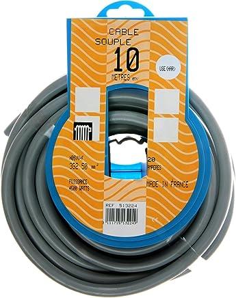 /au choix en /étapes d mm2 /PVC erdleitung Noir/ XBK C/âble souterrain NYY-J 5/x 4/mm/² /Livraison Gratuite/ au m/ètre sur le Meter pr/écis: C/âble dalimentation/