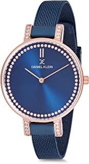 Daniel Klein Womens Quartz Watch, Analog Display and Stainless Steel Strap - DK12177-5