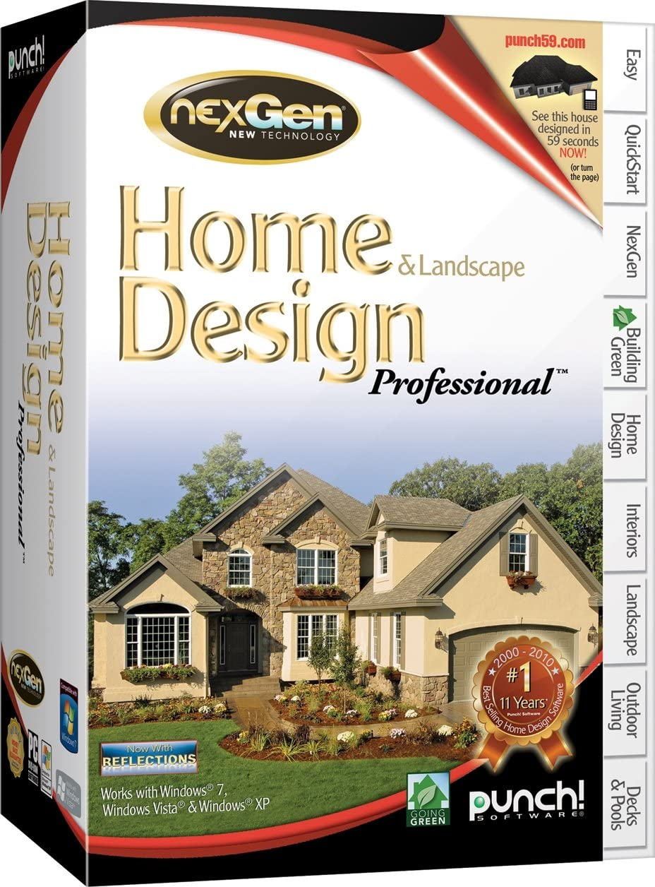 Punch! Home and Landscape Design Professional, Version 2 - Old Version