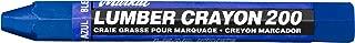 Markal 200 Lumber Crayon Economical Wax Based Marker, 1/2
