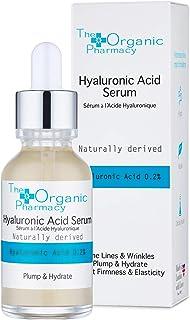 El sérum de ácido hialurónico de la farmacia orgánica