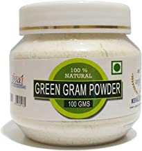 RT Raintech Ayurvedic Homemade Green Powder (Moong Dal) -100 g