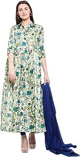 Vastra Vinod Women's Rayon Salwar Suit Set