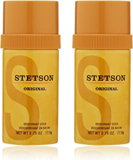 Stetson Stick Deodorant, 2.75 Fluid Ounce, 2-pack