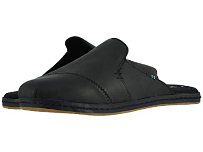 TOMS Nova Leather Wrap (Black Leather) Women