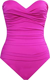 Miraclesuit 1 Piece Pink Swimsuit Barcelona Must Haves Cup B to F