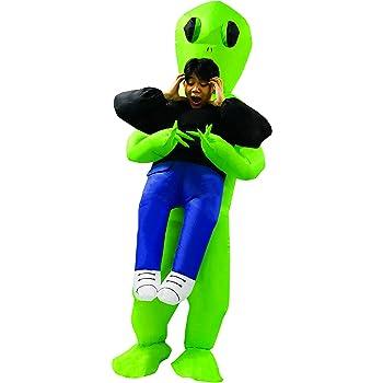 Morph Divertido Disfraz Inflable Extraterrestre Adultos - Una ...