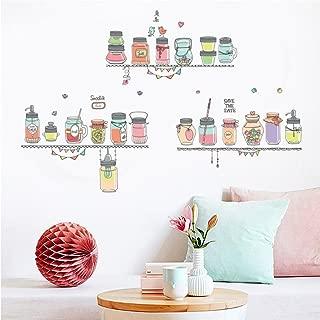 YJYDADA Wall Stickers,DIY Cartoon House Removable Wall Decal Family Home Sticker Mural Art Home Decor(60X90cm)