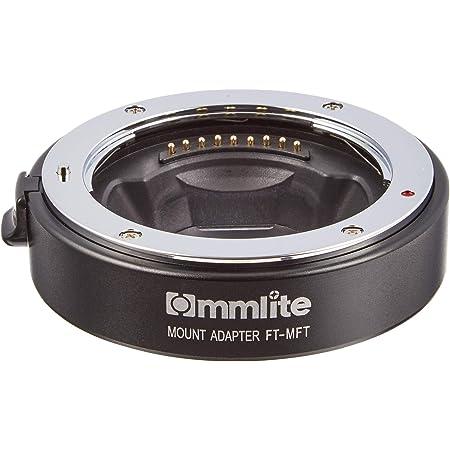 Commlite レンズマウントアダプター CM-FT-MFT (フォーサーズマウント → マイクロフォーサーズマウント変換) 電子接点付き