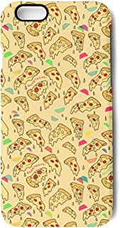 iPhone 6 Plus Case/iPhone 6S Plus Case Pizza Triangle Gold Party Printing Anti-Finger Anti-Scratch TPU Heavy Duty Protection Phone Back Cover for iPhone 6 Plus/iPhone 6S Plus