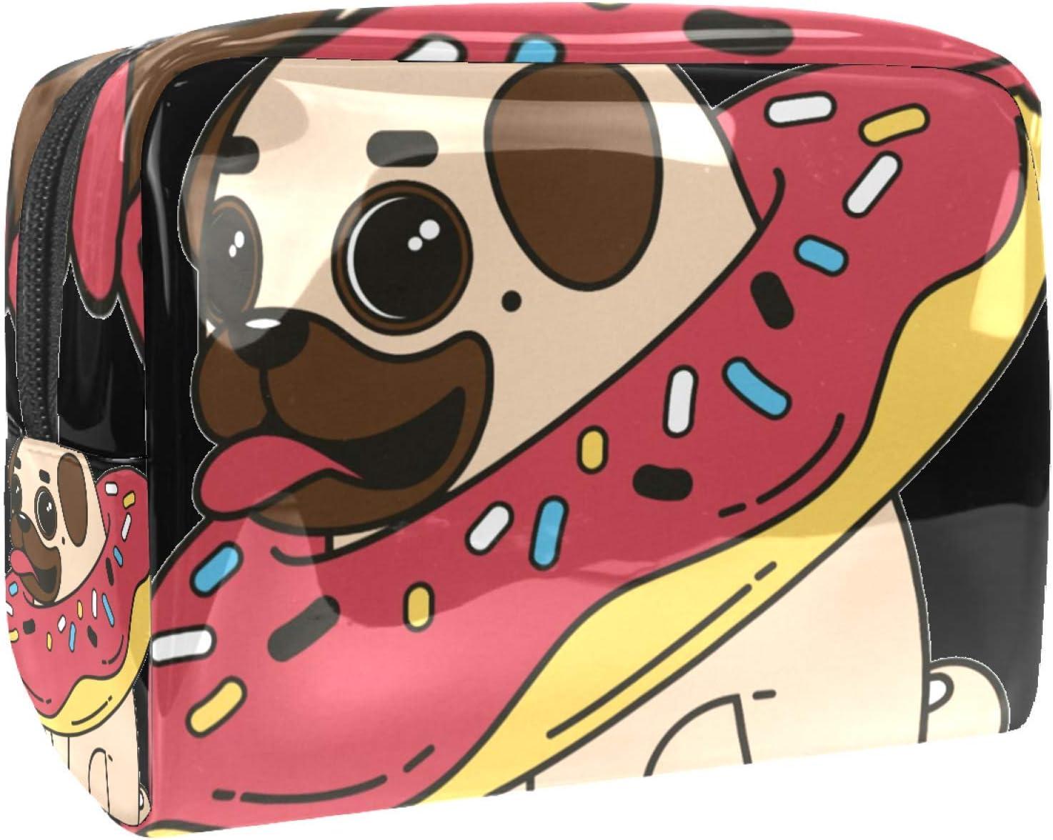 Makeup Bag Las Vegas Mall Portable Travel Pug Women High quality new dog Cosmetic Beauty for