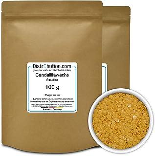 200 g Candelillawachs in Pastillen, natürliches Pflanzenwachs für Naturkosmetik und mehr, Bienenwachs Alternative - Candelilla -