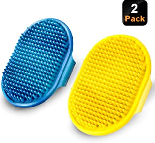Best dog grooming rubber brush Reviews