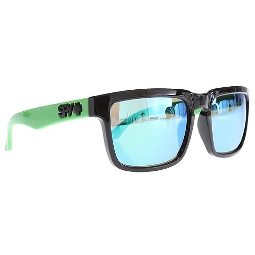e2ed34b2a Spy Helm Sunglasses Grey w/ Green Spectra Lens Mens