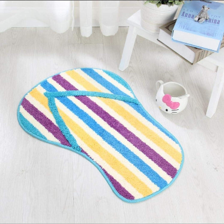 Sweet Feet of Modeling of The Flocking Technology Slip Resistant mat Carpet of Foot of matt RESS, 3