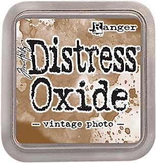 Ranger Tim Holtz 'Distress Oxide Pad' zdjęcie vintage, materiał syntetyczny, brązowy, 7,6 x 7,6 x 1,9 cm