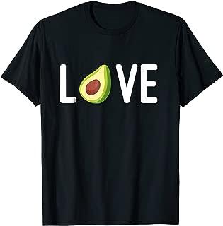Love Avocado Guacamole Dip Healthy Food Addict Shirt