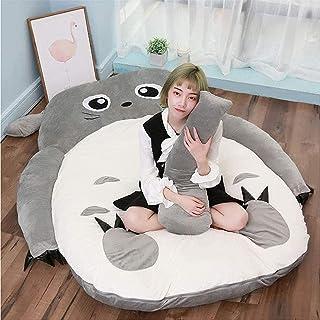 Plysch Totoro sovsäck Barnmadrass mjuk tjock, min granne Totoro docka Lazy Sofa Cartoon Totoro Tatami Lazy Plysch sova pad...