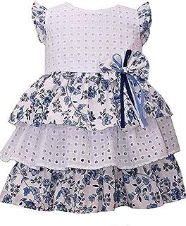 Girls' Knit Sequin Daisy Dropwaist Dress