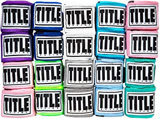 Title Boxing Elastic Mexican Handwraps (Assorted 10 Pack)