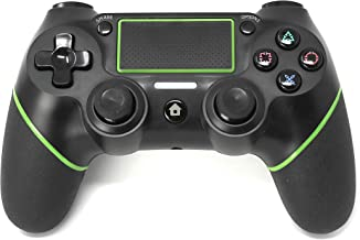 Best Chasdi Ps4 Controller C200 Wireless Bluetooth with USB Cable for Playstation 4 Joystick (Green) Review