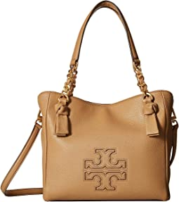 2f0e517be77 Vinatage Camel. 148. Tory Burch. Harper Small Satchel.  298.50MSRP   398.00