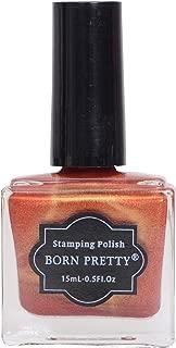 Born Pretty Shimmer Nail Stamping Nail Polish (Shade #42)