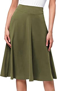 d9c1d4b22b06 Womans 4X Basic Black or Print Stretchy Hi-Lo Hem Middi Skirt New in  Package Damenmode