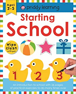 Starting School: Wipe Clean Workbooks