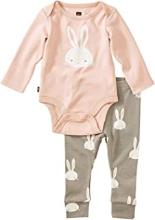 Tea Collection Bodysuit Baby Outfit, Bunnies, Multiple