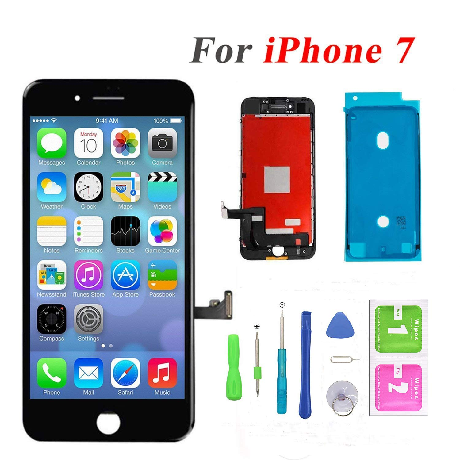 QTlier Replacement Display Digitizer Assembly