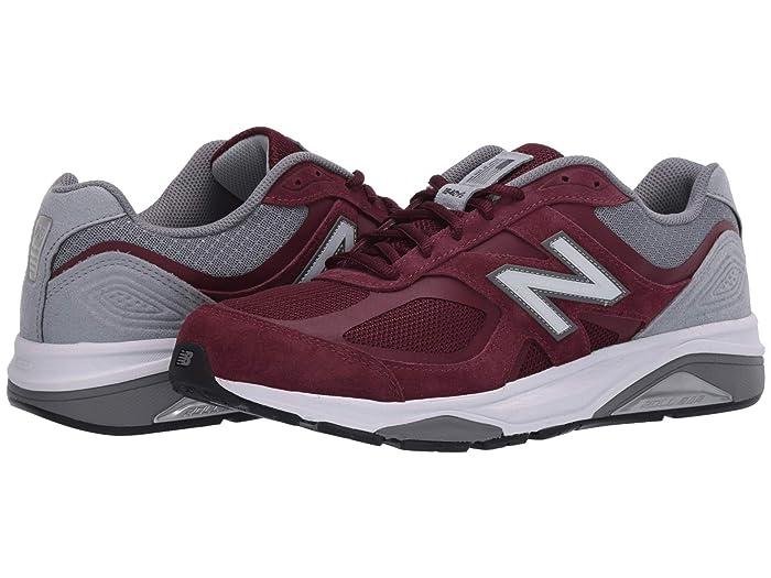 New Balance  1540v3 (Burgundy/Grey) Mens Shoes