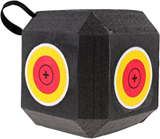 Perfk 全2タイプ モデル 発泡 ターゲット キューブ 目標  矢印 練習用 自己回復 繰り返す利用 射撃 狩猟 アーチェリー   - 赤