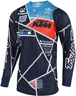 54c594f726cc3 Troy Lee Designs Maillot Se Air Metric Team KTM Go Pro Moto Cross Série  Limitée