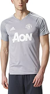 adidas Men's Manchester United Short Sleeve Training Jersey