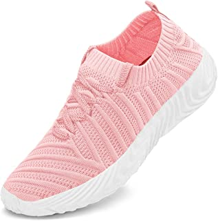 domirica Women Sneakers Ultra Lightweight Running Shoes Breathable Slip On Women Shoes