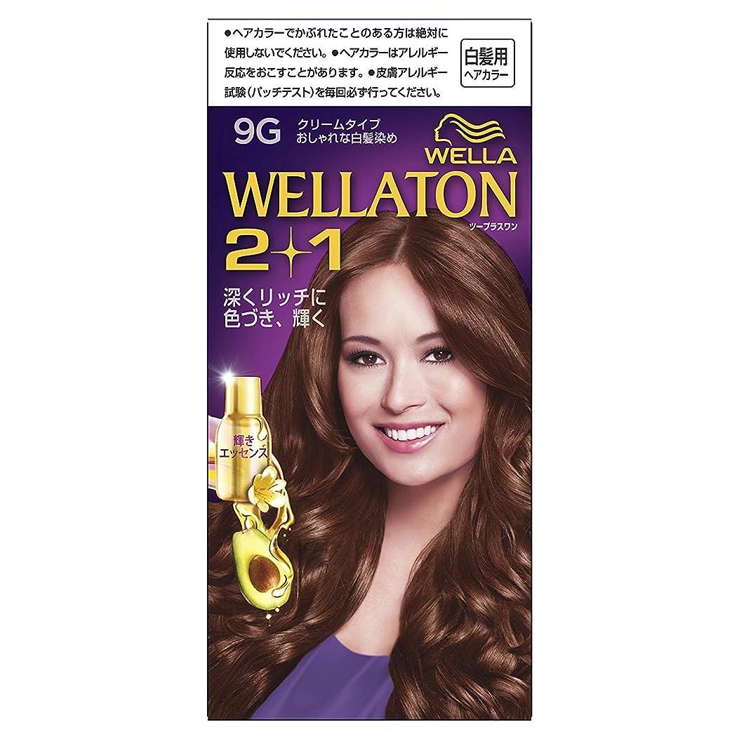 黒くする有用抽象ウエラトーン2+1 クリームタイプ 9G [医薬部外品] ×6個