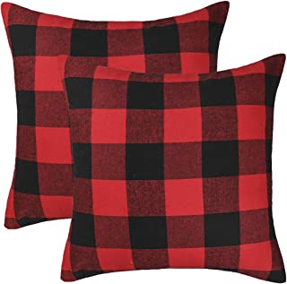 red and black buffalo check