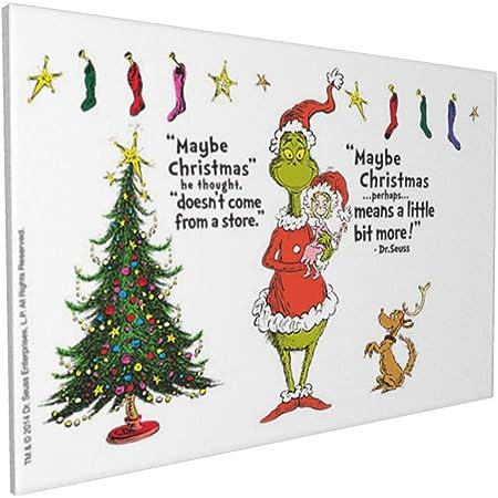 CHRISTMAS GRINCH DR SEUSS XMAS DECORATION  WALL LOGO STICKER DECAL VINYL GRN003