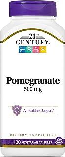 21st Century Pomegranate Veg Capsules, 500 mg 120 Vegetarian Capsules
