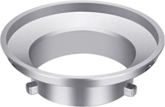 Neewer Softbox Speed Ring Adapter for Bowens Monolight Flash and Soft Box - Aluminum Alloy, 3.8 inches/9.6 Centimeters Inner Diameter and 5.9 inches/ 15 Centimeters Outer Diameter