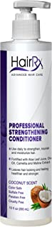 HairRx Professional Strengthening Conditioner with Pump, Coconut Scent, 10 Ounce