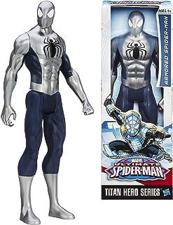 Titan Hero Series Ultimate Spider-Man 12 Inch Action Figure (Silver)