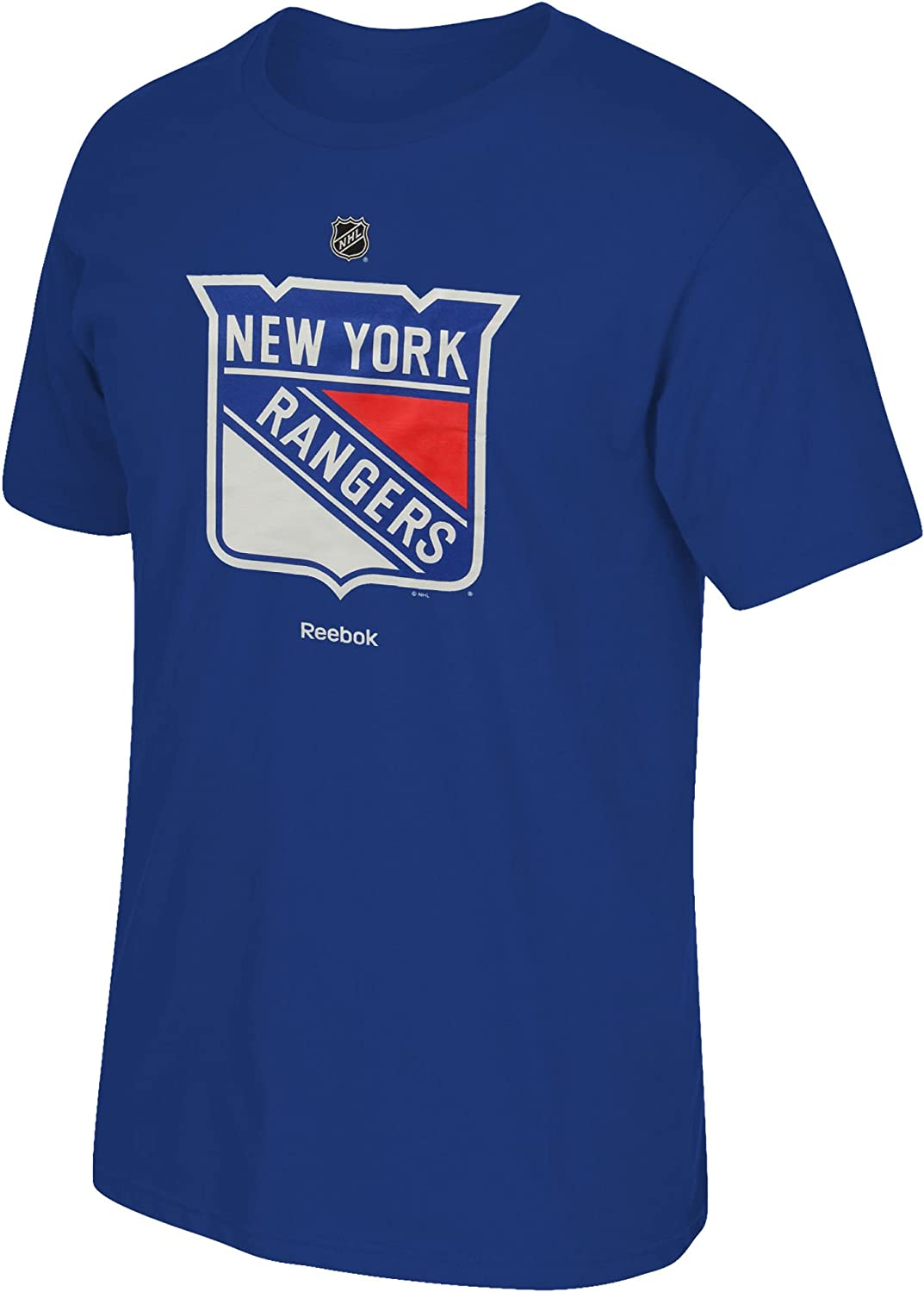 New York Rangers Youth blueee Primary Logo TShirt
